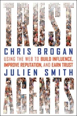 """Portada libro """"Trust Agents"""" de Chris Brogan y Julien Smith"""