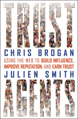 "Portada libro ""Trust Agents"" de Chris Brogan y Julien Smith"